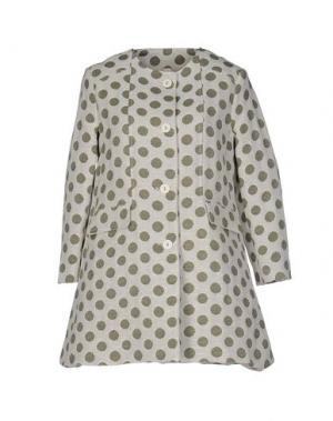 Легкое пальто SOUVENIR. Цвет: белый