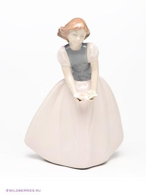 Фигурка Девочка Pavone. Цвет: кремовый, серый, коричневый, светло-бежевый