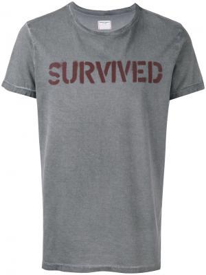 Футболка Survived Htc Hollywood Trading Company. Цвет: серый