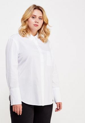 Рубашка Violeta by Mango. Цвет: белый