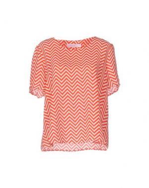 Блузка ANONYME DESIGNERS. Цвет: красный