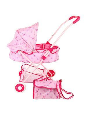 Коляска для кукол Amico. Цвет: фуксия, розовый