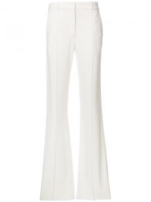 Расклешенные брюки Victoria Beckham. Цвет: белый