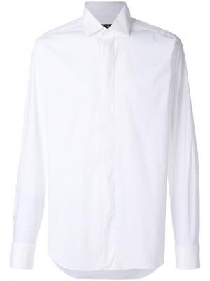 Plain shirt Corneliani. Цвет: белый