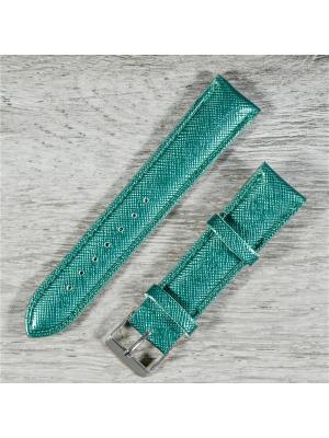 Ремень женский Bizon. Цвет: серо-зеленый