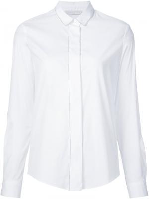 Рубашка классического кроя Fabiana Filippi. Цвет: белый