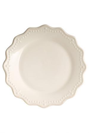Тарелки десертные 21 см 6 шт. H&H. Цвет: белый