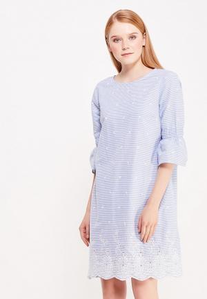 Платье Cortefiel. Цвет: голубой
