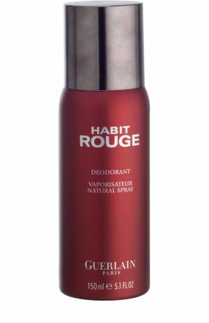 Дезодорант Habit Rouge Guerlain. Цвет: бесцветный