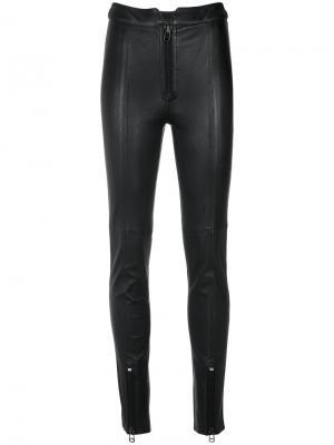 Leather leggings Nk. Цвет: чёрный