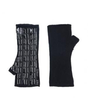 Перчатки DOLCE & GABBANA. Цвет: черный