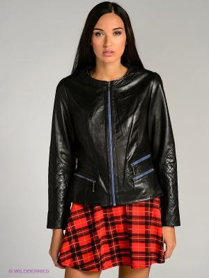 Куртка city girl. Цвет: синий, черный