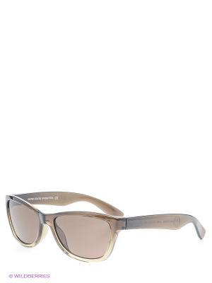 Солнцезащитные очки BB 504S R4 United Colors of Benetton. Цвет: хаки