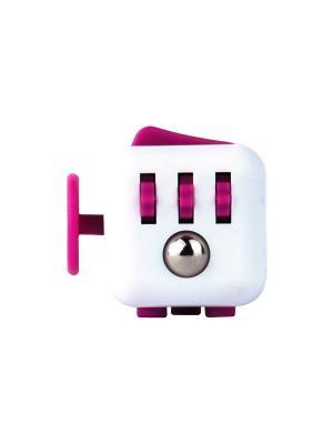 Игрушка антистресс Fidget Cube, ягодка Neocube. Цвет: розовый