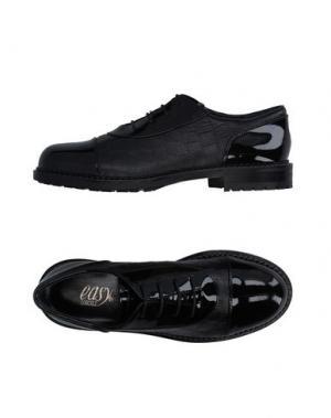 Обувь на шнурках LORIBLU. Цвет: черный
