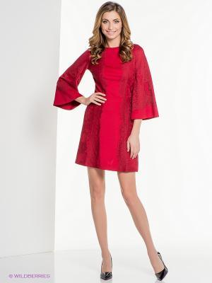 Платье ELENA FEDEL. Цвет: красный