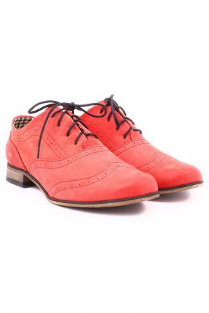 Ботинки ZAPATO. Цвет: красный