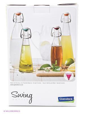 Бутылка Glasslock IG-661 500мл с воронкой 2шт. Цвет: прозрачный
