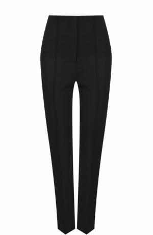 Укороченные однотонные брюки со стрелками Diane Von Furstenberg. Цвет: черный