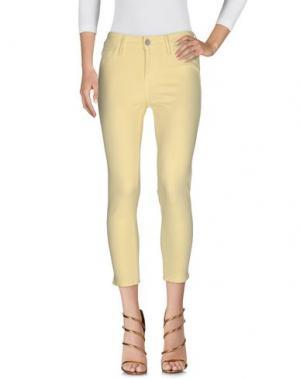 Джинсовые брюки BLACK ORCHID. Цвет: желтый