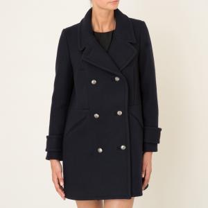 Пальто TRAVIS BA&SH. Цвет: темно-синий
