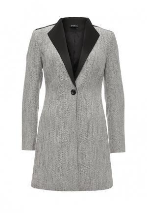 Пальто Bebe. Цвет: серый