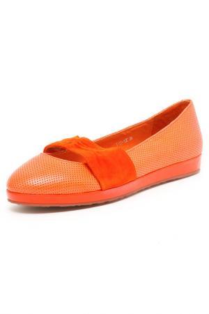 Туфли Mimi Clark. Цвет: оранжевый