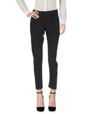 Повседневные брюки LUXURY FASHION. Цвет: черный