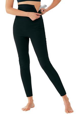 Антицеллюлитное белье, брюки Turbocell. Цвет: черный