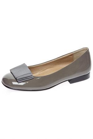 Туфли Eli. Цвет: серый