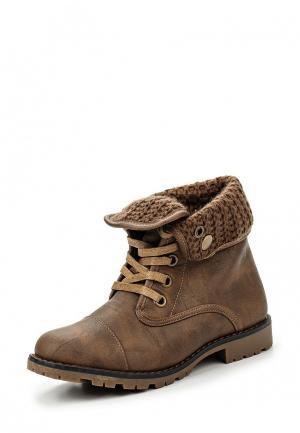 Ботинки Foxy Up. Цвет: коричневый