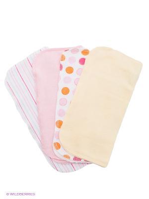 Комплект Spasilk. Цвет: бежевый, розовый, белый