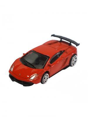 Машинка Lamborghini LP570-4 Super Trofeo Stradale, Красная (1:64) (PS-0616615-R) Pit Stop. Цвет: красный