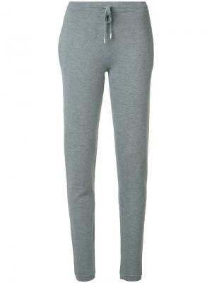 Спортивные брюки Gabriela Hearst. Цвет: серый