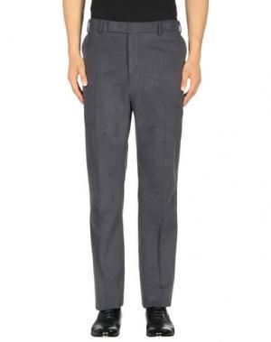 Повседневные брюки RICHARD JAMES. Цвет: грифельно-синий