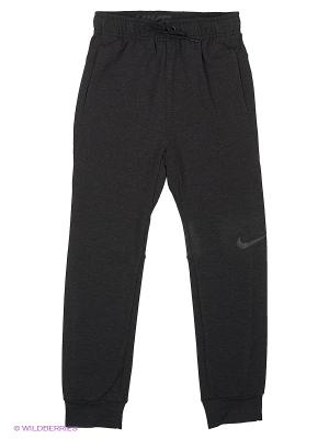 Брюки DF TRAINING FLEECE PANT YTH Nike. Цвет: черный