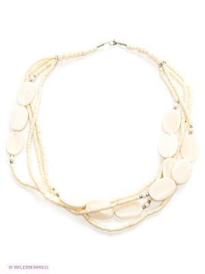 Ожерелье ГАНГ. Цвет: белый