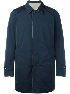 Пальто с потайной застежкой Borrelli OW8008G200611906010