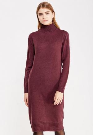 Платье Jacqueline de Yong. Цвет: бордовый