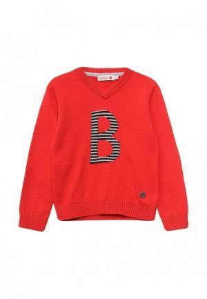 Пуловер Boboli. Цвет: красный