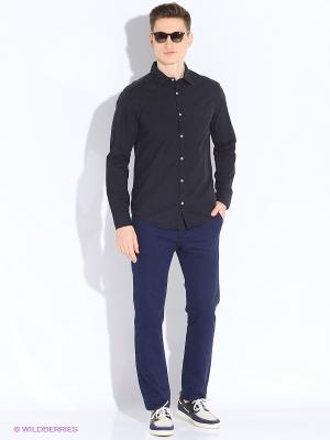 Рубашка MEXX. Цвет: синий, белый