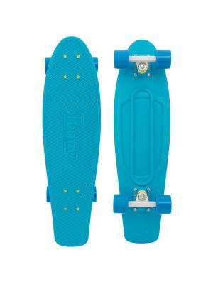 Комплект лонгборд NICKEL 27 (SS) PENNY. Цвет: голубой