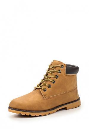 Ботинки Topway. Цвет: коричневый