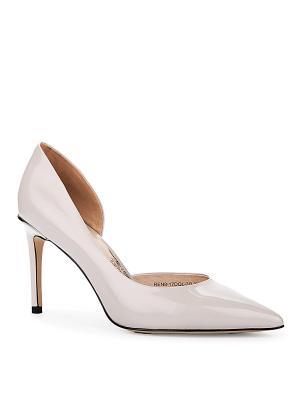 Туфли EMILIA ESTRA. Цвет: серый