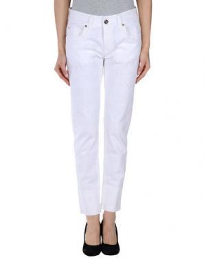 Повседневные брюки ROSE & LINI. Цвет: белый