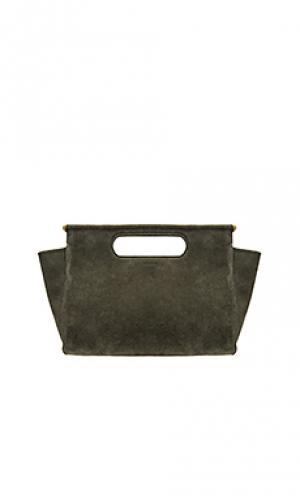Миниатюрная сумка maude maison Clare V.. Цвет: военный стиль