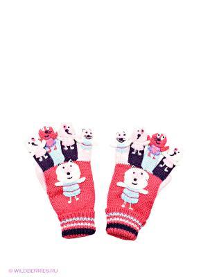 Перчатки Doell. Цвет: розовый