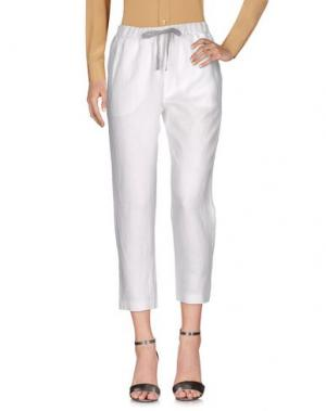 Повседневные брюки LE TRICOT PERUGIA. Цвет: белый