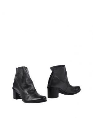 Полусапоги и высокие ботинки LILIMILL. Цвет: свинцово-серый