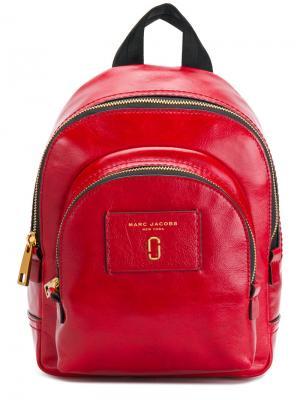 Рюкзак Double Zip Marc Jacobs. Цвет: красный
